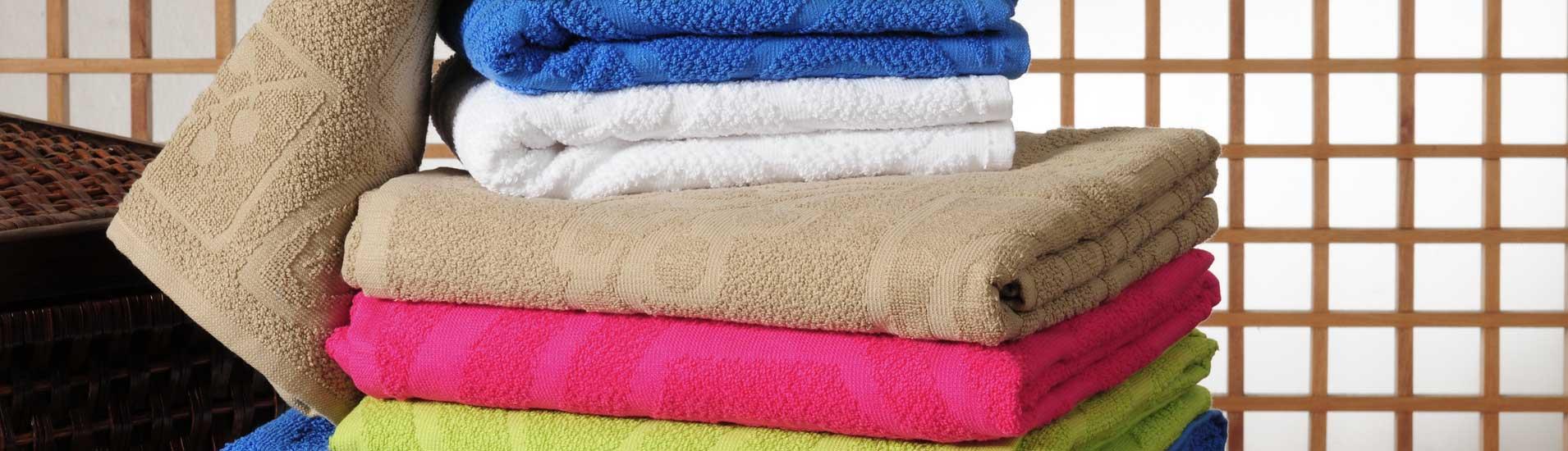 Frottierwaren von HTG - Ihren Textilexperten